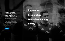 AIG All Blacks Concept