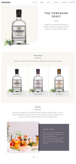 Masons Gin Concept